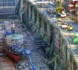 A sneaky peek into the shipyard by June Poston