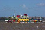 Dazzle ferry by Tom Niblock