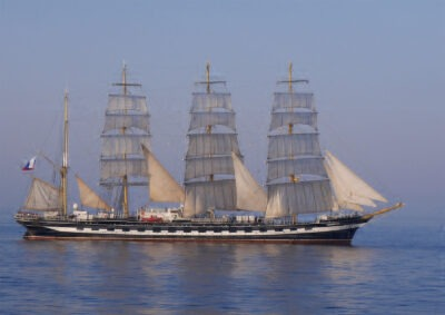 Russian Tall Ship by Margaret Quayle