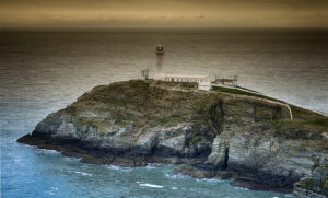 South Stack lighthouse by Chris Hands
