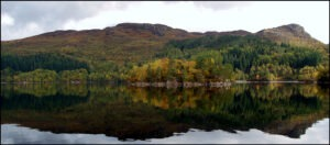 reflections on loch katrine by Karen Redfern