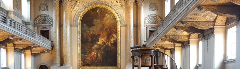 Naval college Greenwich by Maragret Quayle