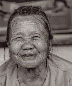 Happy In Her 80s