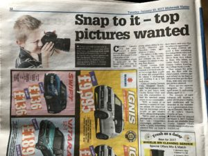 Paul Baker wrote this great article about the Junior Photographic Competition. It appeared in the Midweek Visitor!